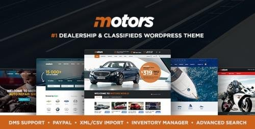 ThemeForest - Motors v4.9.4 - Car Dealer, Rental & Classifieds WordPress theme - 13987211 - NULLED