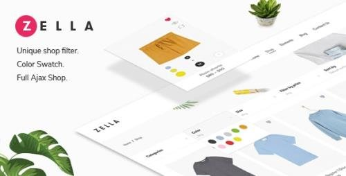 ThemeForest - Zella v2.2.2 - WooCommerce AJAX WordPress Theme - RTL support - 22688180