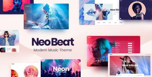 ThemeForest - NeoBeat v1.2 - Music WordPress Theme - 26550779 - NULLED