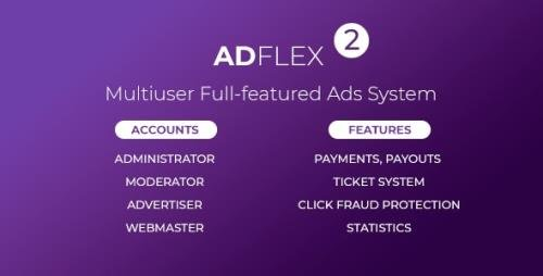 CodeCanyon - AdFlex v2.0.4 - Multi User Full-featured Ads System - 19763852 - NULLED