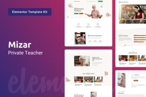 ThemeForest - Mizar v1.0.0 - Private Teacher & Education Elementor Template Kit - 29664008