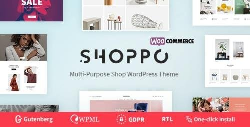 ThemeForest - Shoppo v1.0.4 - Multipurpose WooCommerce Shop Theme - 22968129