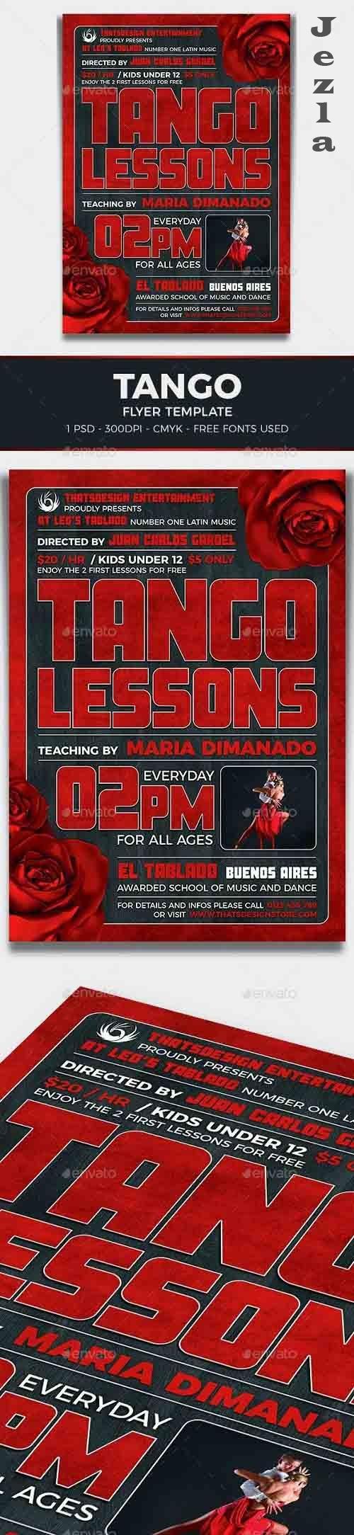 Tango Flyer Template V2 - 17227573 - 802968