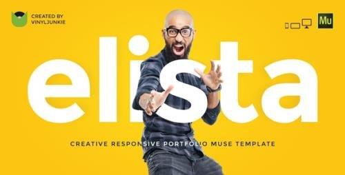 ThemeForest - Elista v1.0 - Responsive Creative Portfolio Muse Template - 18201580