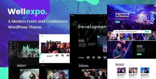ThemeForest - WellExpo v1.5 - Event & Conference Theme - 22335758 - NULLED
