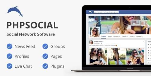 CodeCanyon - phpSocial v6.3.0 - Social Network Platform - 5158794 - NULLED