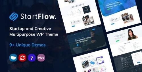 ThemeForest - StartFlow v1.10 - Responsive Multipurpose WordPress Theme - 24096681