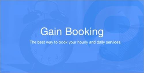 CodeCanyon - Gain Booking v1.1.3 - 23732044 -