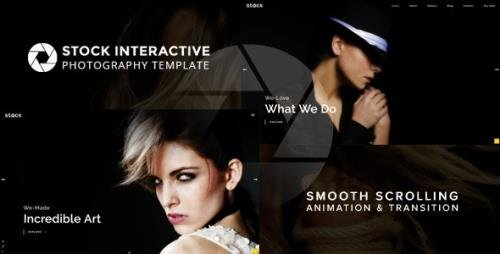 ThemeForest - Stock v1.0 - Interactive Photography Template (Update: 18 August 17) - 20308825