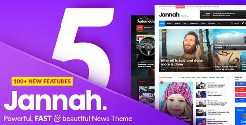 ThemeForest - Jannah v5.1.0 - Newspaper Magazine News BuddyPress AMP - 19659555 - NULLED