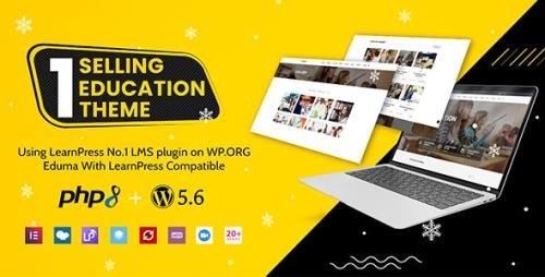 ThemeForest - Education WordPress Theme | Eduma v4.2.9.9 - 14058034 - NULLED