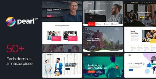 ThemeForest - Pearl v3.2.6 - Corporate Business WordPress Theme - 20432158 - NULLED
