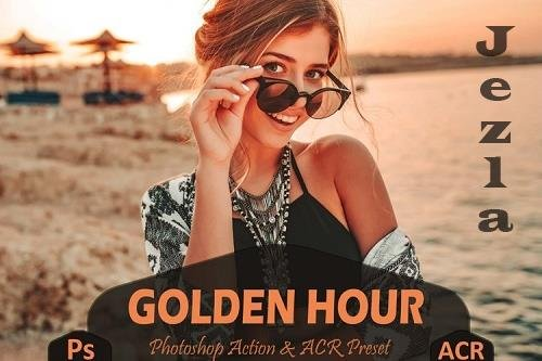 10 Golden Hour Photoshop Actions And ACR Presets, Sunset Ps - 1010697
