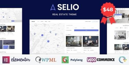 ThemeForest - Selio v1.2 - Real Estate Directory - 23638400