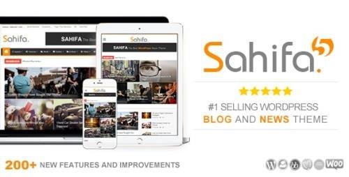 ThemeForest - Sahifa v5.7.4 - Responsive WordPress News / Magazine / Blog Theme - 2819356