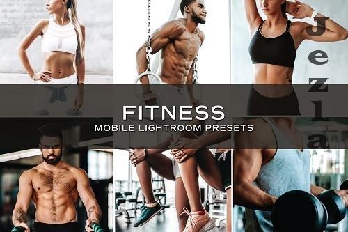 CreativeMarket - 5 Fitness Lightroom Presets 5701237