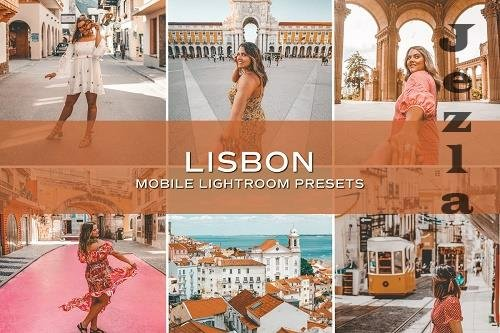 CreativeMarket - 5 Lisbon Lightroom Presets 5701235
