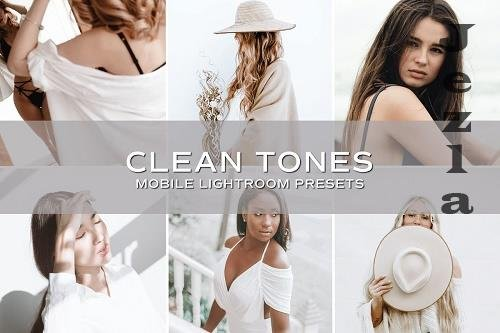 CreativeMarket - 5 Clean Tones Lightroom Presets 5701167