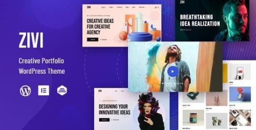ThemeForest - Zivi v1.0.2 - Contemporary Creative Agency Theme - 28159292