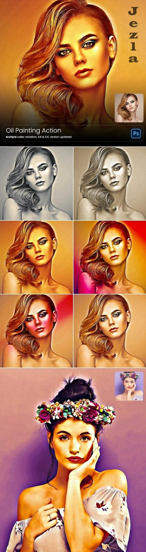 GraphicRiver - Oil Painting Action 29228095