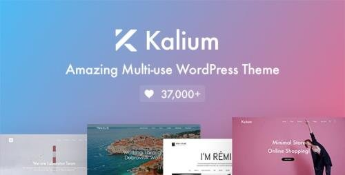 ThemeForest - Kalium v3.1.3 - Creative Theme for Professionals - 10860525 - NULLED