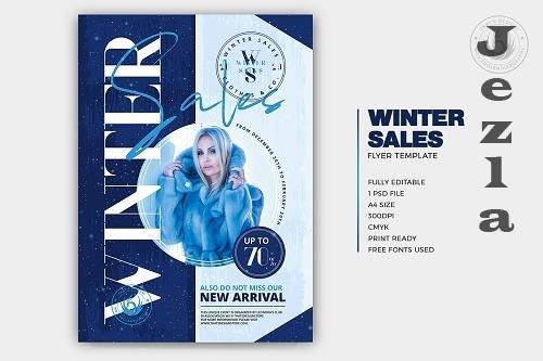 Winter Sale Flyer Template - 5715466