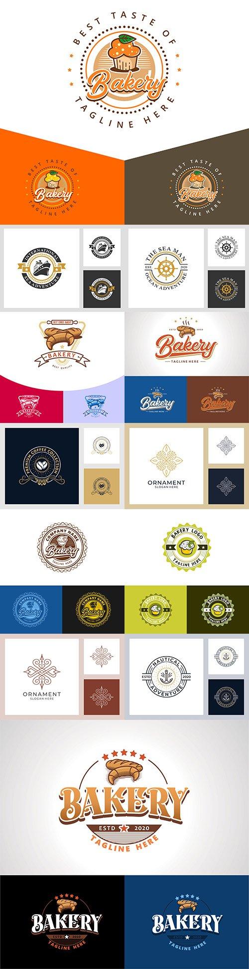 Minimalist elegant logo and business card design 12
