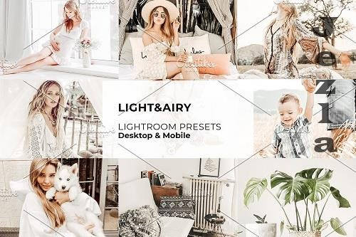CreativeMarket - Light and Airy Lightroom Presets 5642263