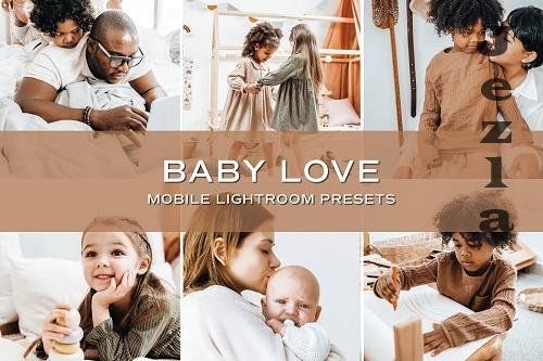 CreativeMarket - 5 Baby Lightroom Presets 5701713