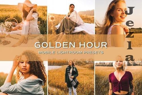 CreativeMarket - 5 Golden Hour Lightroom Presets 5701716