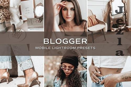 CreativeMarket - 5 Blogger Lightroom Presets 5701706