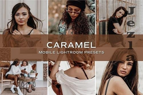 CreativeMarket - 5 Caramel Lightroom Presets 5701792