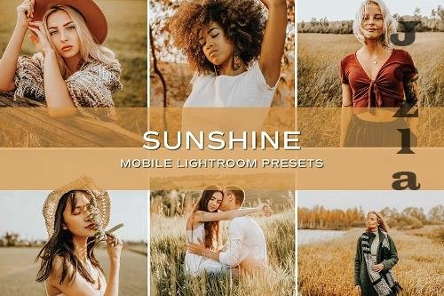 CreativeMarket - 5 Sunshine Lightroom Presets 5701791