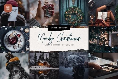 CreativeMarket - 4 Moody Christmas Presets Pack 5679586