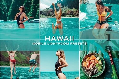 CreativeMarket - 5 Hawaii Lightroom Presets 5699061