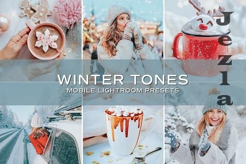 CreativeMarket - 5 Winter Tones Lightroom Presets 5698860