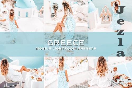 CreativeMarket - 5 Greece Lightroom Presets 5698922