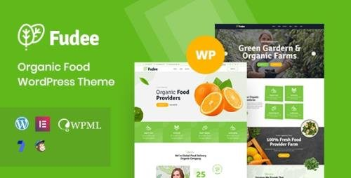ThemeForest - Fudee v1.0 - Organic Food WordPress Theme (Update: 16 December 20) - 27117721
