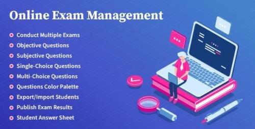 CodeCanyon - Online Exam Management v2.2 - Education & Results Management - 26255739