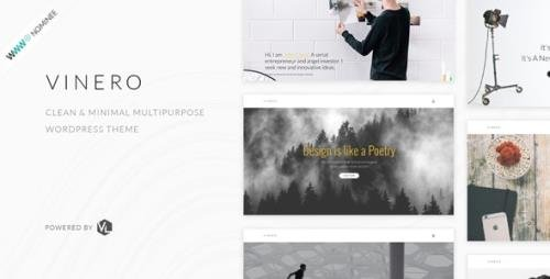 ThemeForest - Vinero v2.2.1 - Creative MultiPurpose WordPress Theme - 19322215