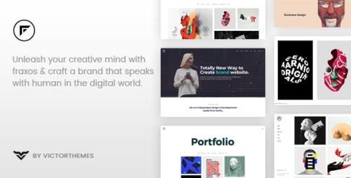 ThemeForest - Fraxos v1.7.4 - Creative Portfolio WordPress Theme - 22255499