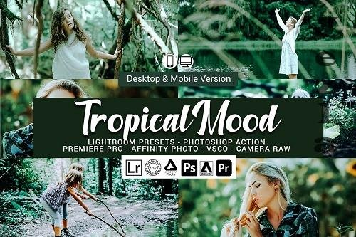 CreativeMarket - Tropical Mood Presets 5689991