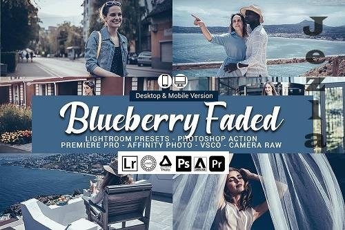 CreativeMarket - Blueberry faded Presets 5693268