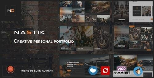 ThemeForest - Nastik v3.3 - Creative Portfolio WordPress Theme - 25227363 - NULLED
