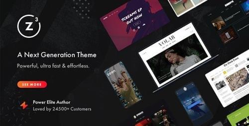 ThemeForest - Zeen v3.9.8.4 - Next Generation Magazine WordPress Theme - 22709856