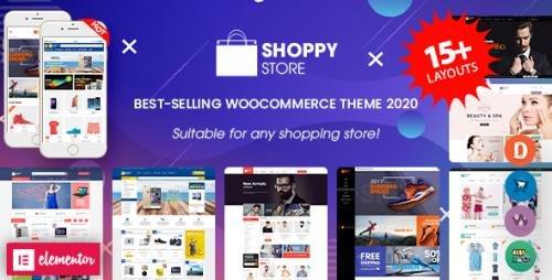 ThemeForest - ShoppyStore v3.6.4 - Multipurpose Elementor WooCommerce WordPress Theme (15+ Homepages & 3 Mobile Layouts) - 13607293 - NULLED