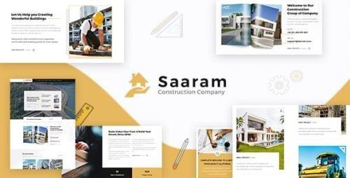 ThemeForest - Saaram v1.6 - Architect & Building Theme - 23394501
