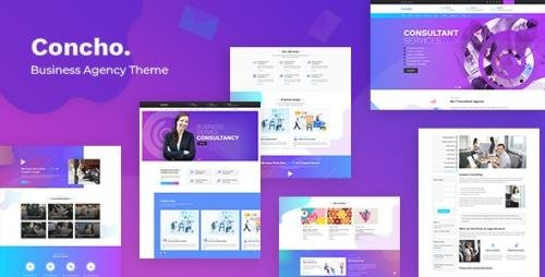 ThemeForest - Concho v1.7 - Consulting Services WordPress - 23272192