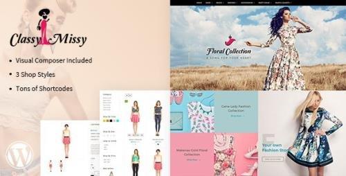 ThemeForest - Classy Missy v2.0 - Fashion - Woocommerce Theme - 19627603