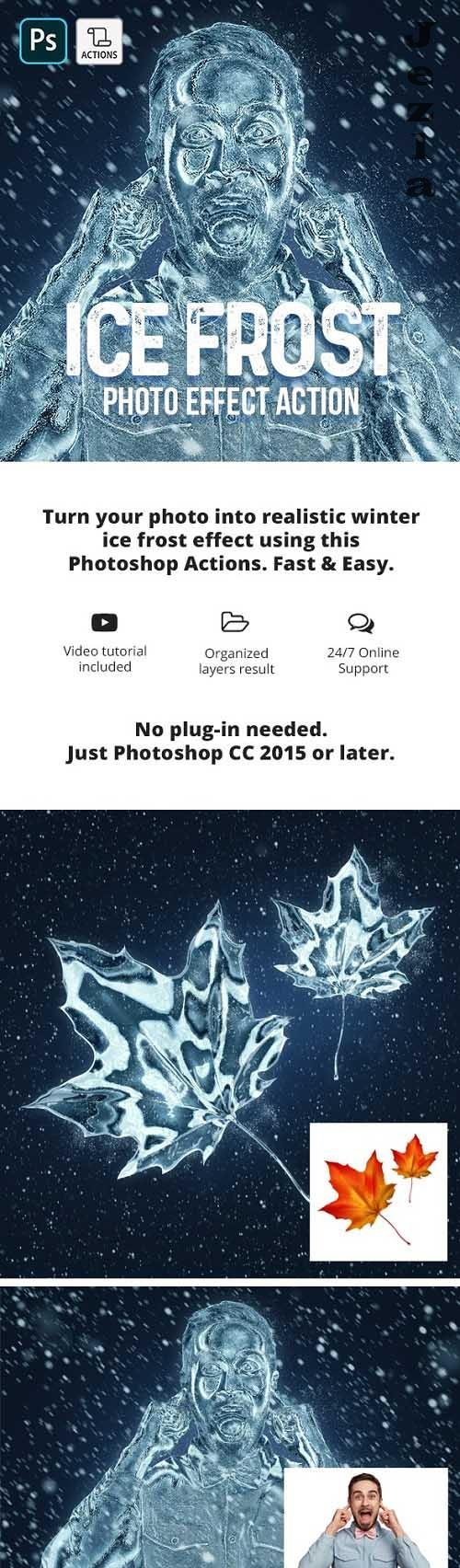 GraphicRiver - Ice Frost Photoshop Action 29754265